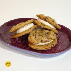 Chocolate Chip Cookie Sandwich